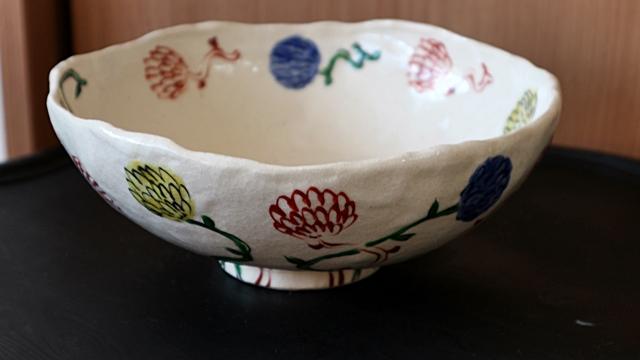 榛澤宏 大鉢 陶器  7寸鉢