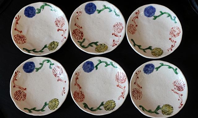榛澤宏 小皿 陶器