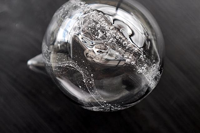 ガラス 吹きガラス 冷酒器 梶原理恵子