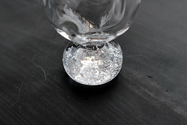 ガラス 吹きガラス 酒器 梶原理恵子