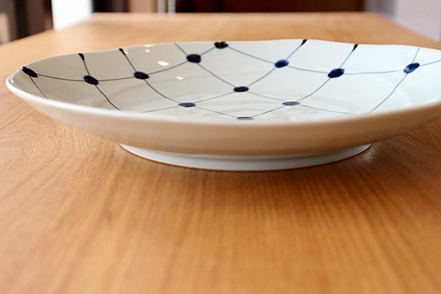 8寸皿 磁器
