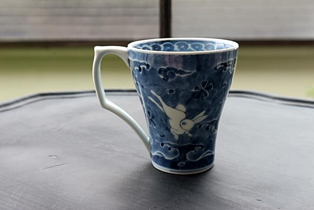 マグカップ 李荘窯 有田焼