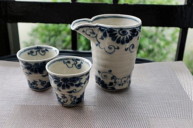 冷酒器とぐみのセット 宗山窯 陶器
