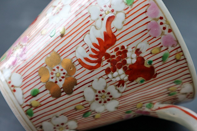 濱田高滋 マグカップ 金魚