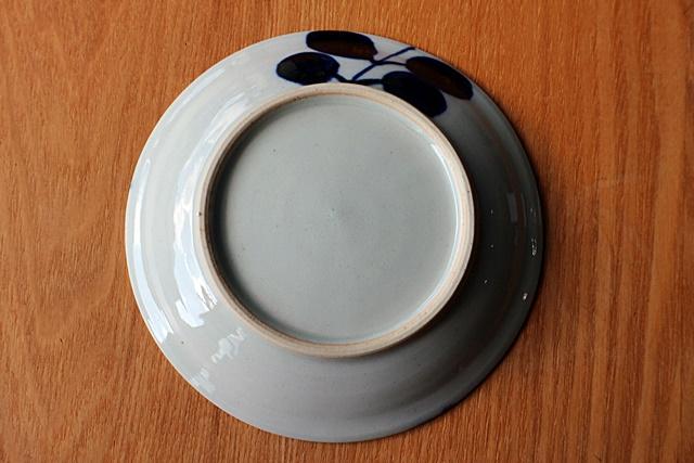 小皿 染付 小林巧征 磁器