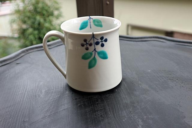 九谷青窯 マグカップ  磁器