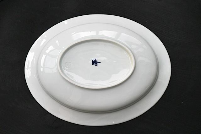 楕円皿・磁器
