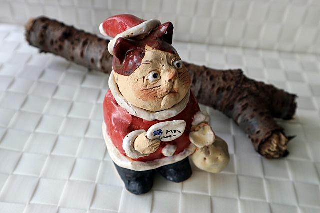 ささきようこ クリスマス サンタクロース 猫