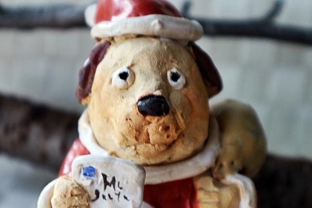 ささきようこ クリスマス サンタクロース 犬